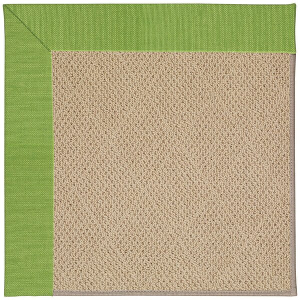 Lisle Machine Tufted Grass/Brown Indoor/Outdoor Area Rug by Longshore Tides