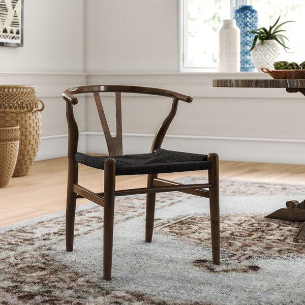 Traskwood Solid Wood Cross Back Side Chair by Mistana Mistana