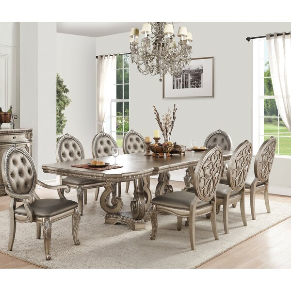 Bridewell 9 Piece Extendable Dining Set by Astoria Grand