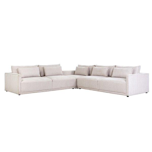 Hemsworth Charleston Reversible Modular Sectional by Sunpan Modern