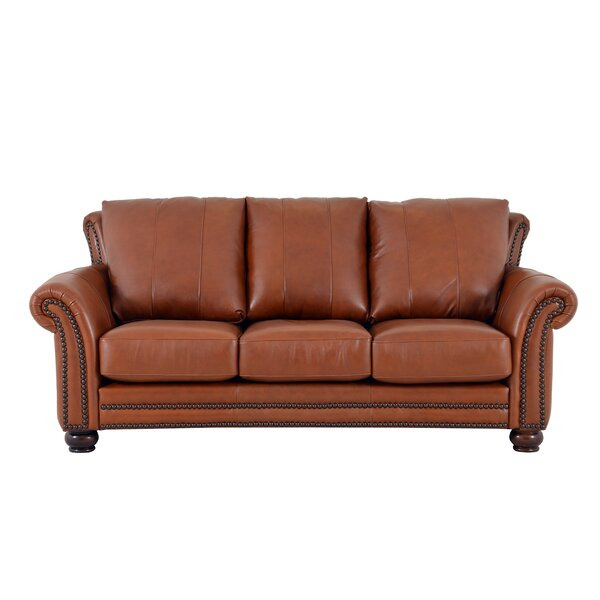 Online Buy Clinton Leather Sofa by Westland and Birch by Westland and Birch