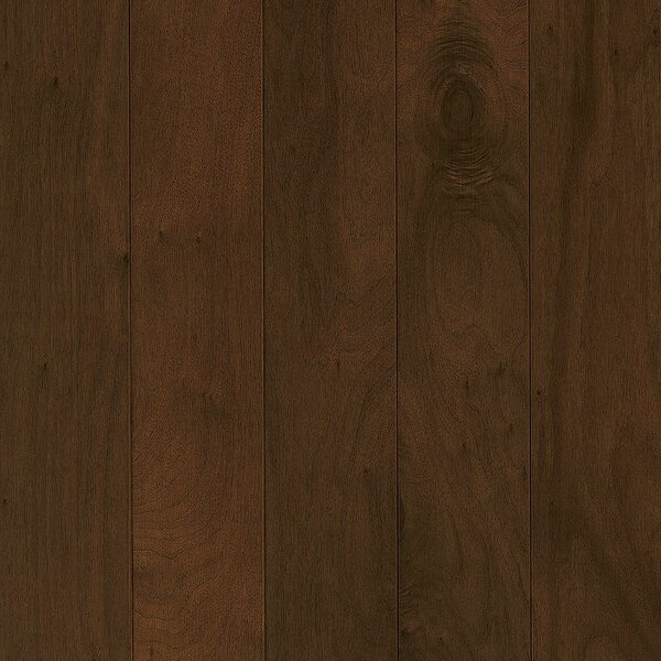 Perf Plus 5 Engineered Walnut Hardwood Flooring in Earthly Shade by Armstrong Flooring