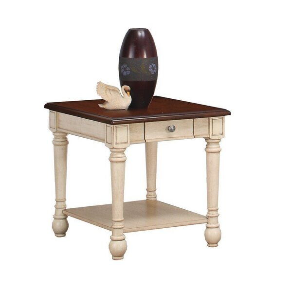 Chenelle End Table with Storage by Rosalind Wheeler