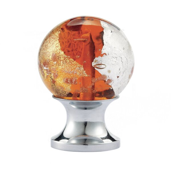 Blown Glass Round Knob by NovaLee