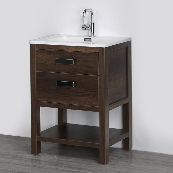 24 Single Bathroom Vanity Set by Streamline Bath24 Single Bathroom Vanity Set by Streamline Bath
