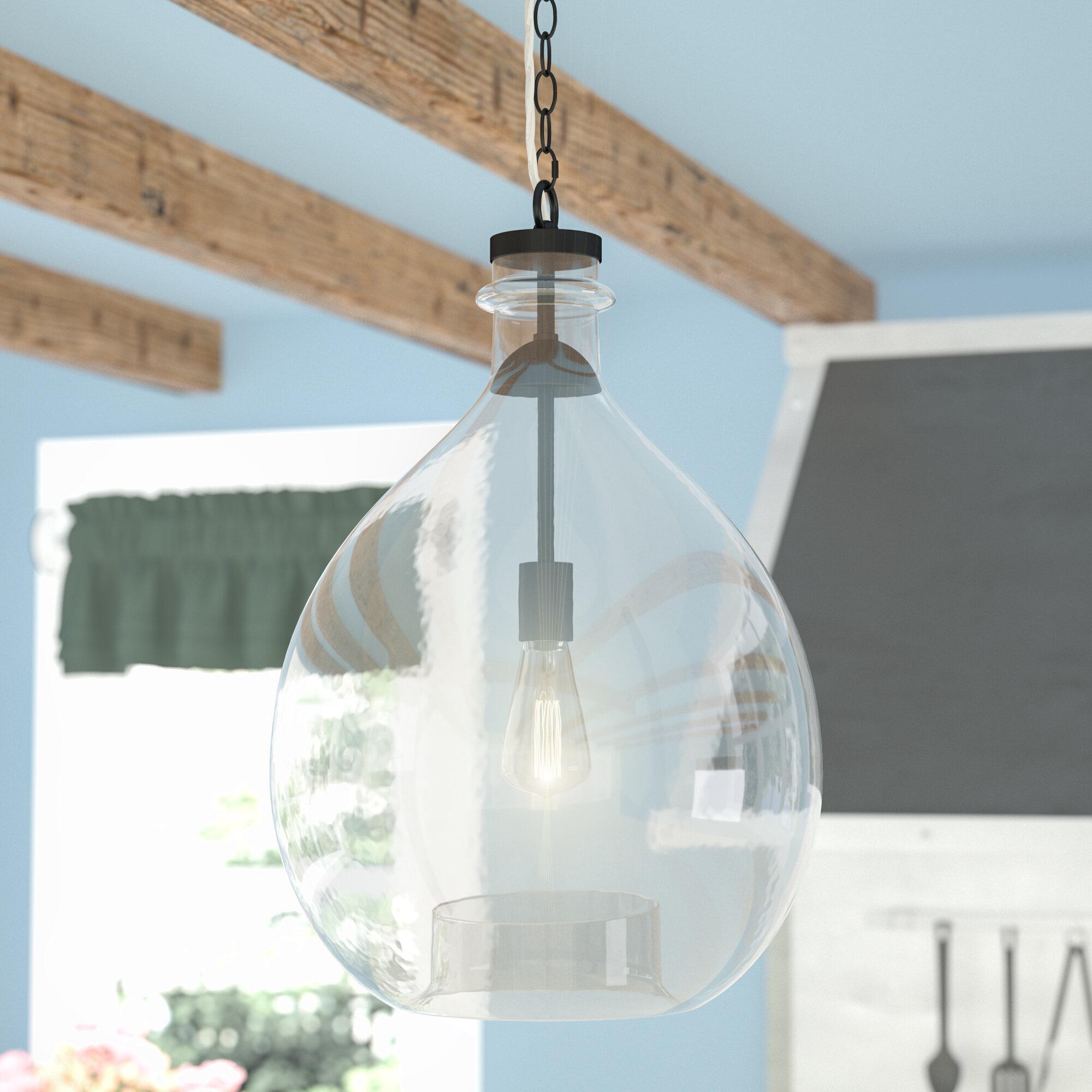 Laurel Foundry Modern Farmhouse Ganley Modern 1-Light Mini Pendant ...