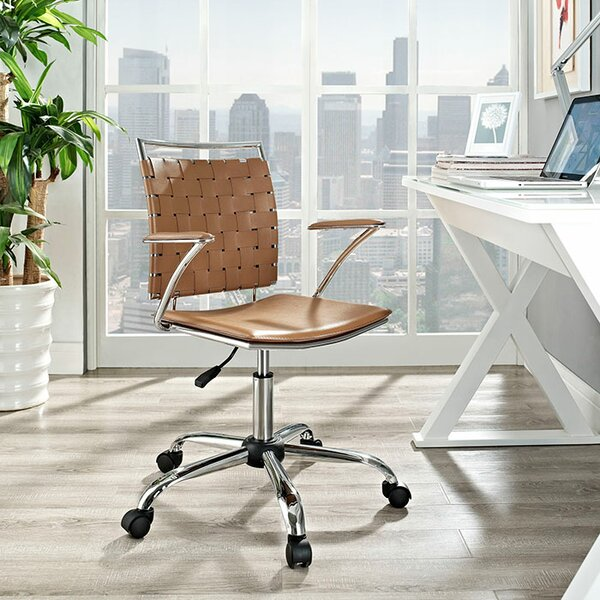 Helmuth Mid-Back Office chair by Wade Logan