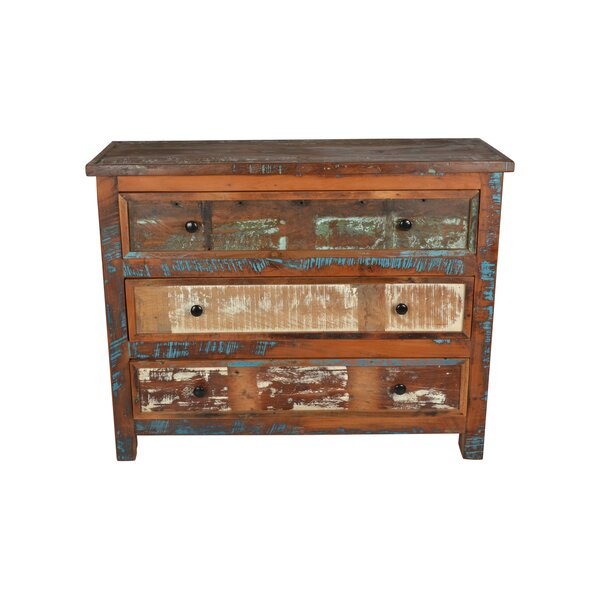 Jaheim 3 Drawer Accent Chest by World Menagerie