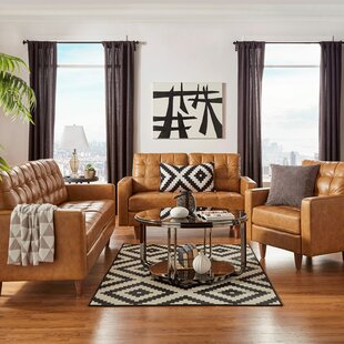 Becker 3 Piece Living Room Set by Industrial Lodge Home