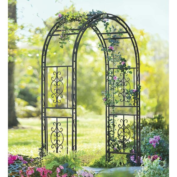 Montebello Iron Arbor by Plow & Hearth