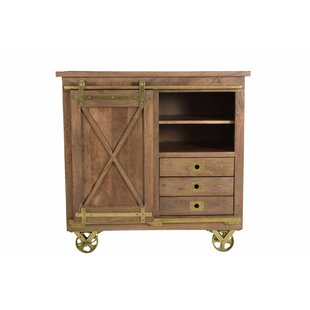 Guevara 1 Sliding Door 3 Drawer Accent Cabinet By Williston Forge