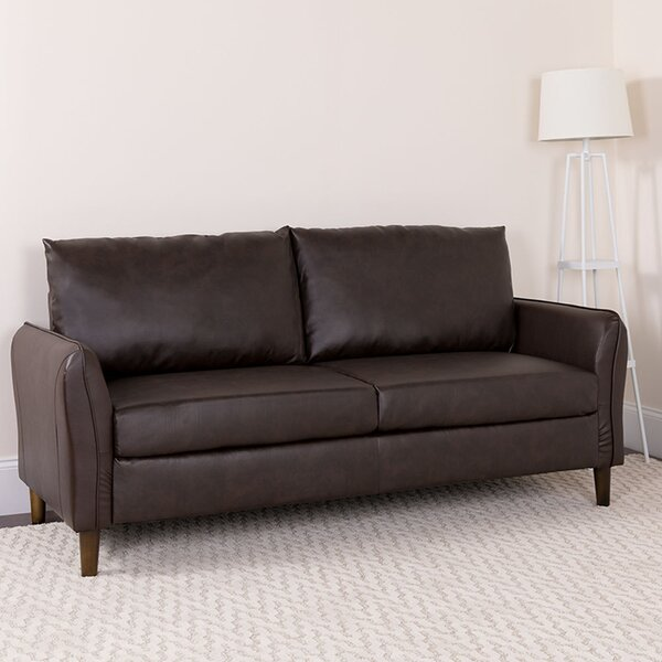 Lauderhill Upholstered Pillow Back Sofa by Ebern Designs