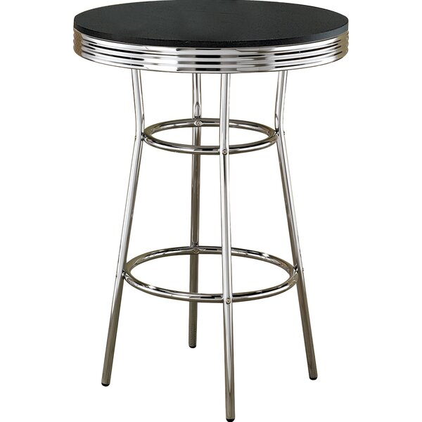 Jakson Retro Pub Table by Zipcode Design