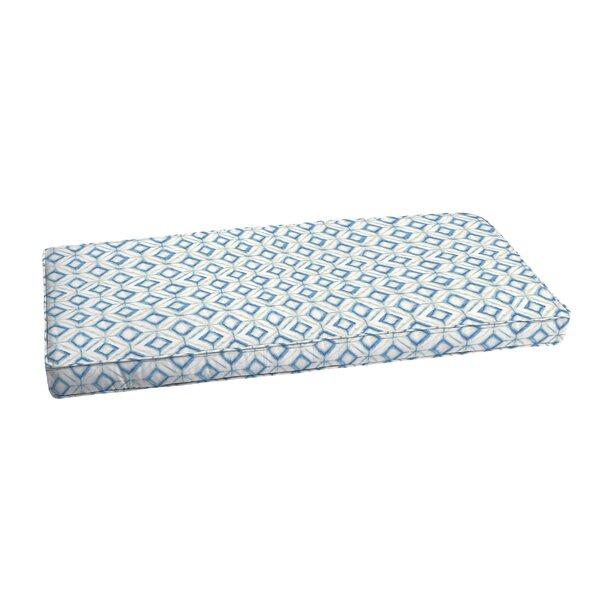 Indoor/Outdoor Bench Cushion by Wrought Studio