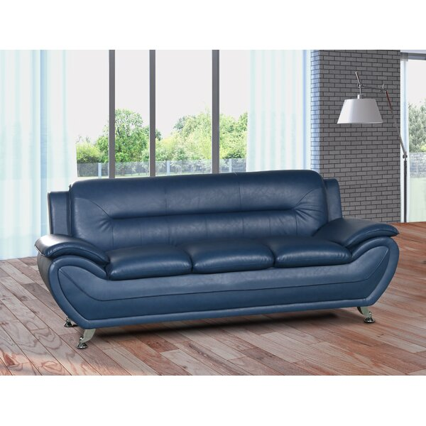 Brand New Gatto Modern Living Room Sofa by Orren Ellis by Orren Ellis