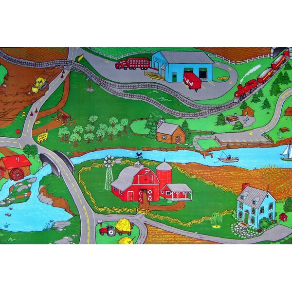 Custom Printed I Area Rugs Farm by Custom Printed Rugs