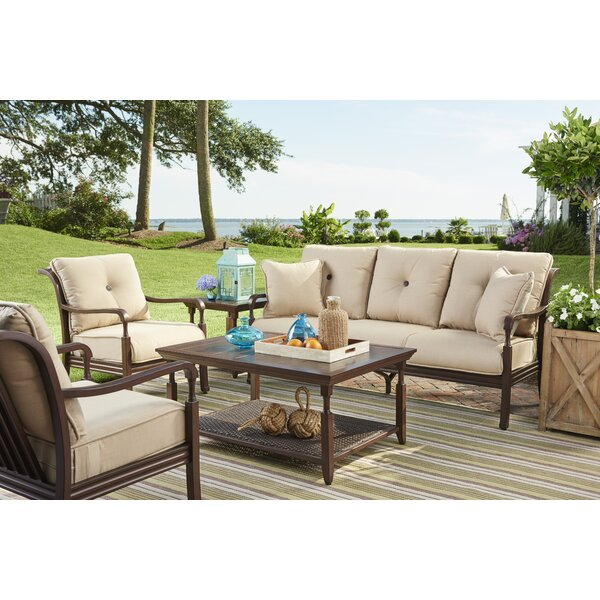 Bade Patio Sofa with Cushions by Canora Grey