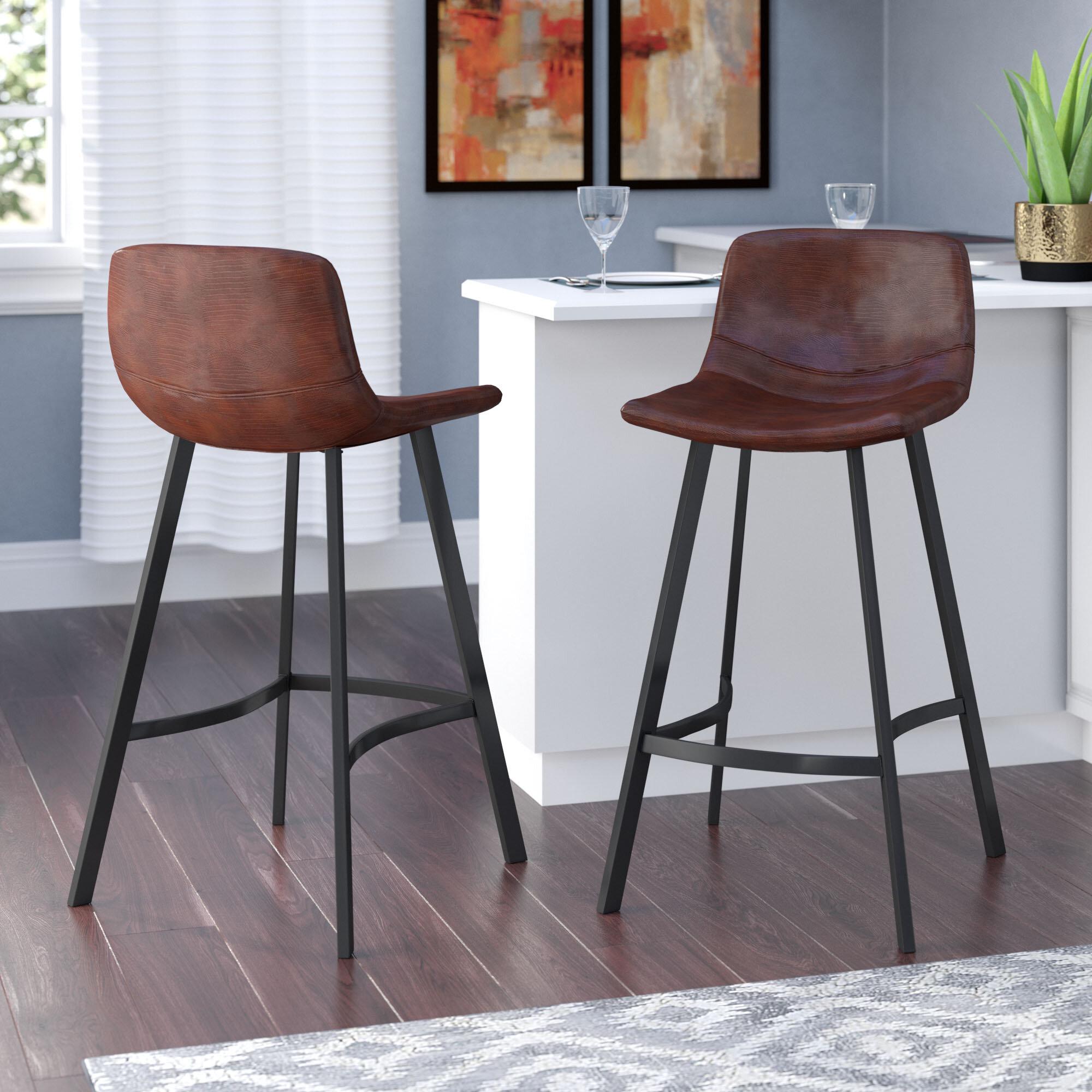 Magnificent Langley Street Taylor Modern 30 Bar Stool Reviews Wayfair Alphanode Cool Chair Designs And Ideas Alphanodeonline