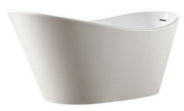 Lavello 71 x 31 Freestanding Soaking Bathtub by Kube Bath