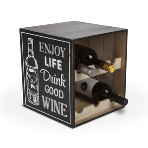 Lone Elm Studios 6 Bottle Tabletop Wine Bottle Rack by The Gerson Companies