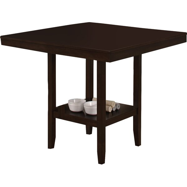 #1 Williamsburg Counter Height Dining Table By Red Barrel Studio Sale