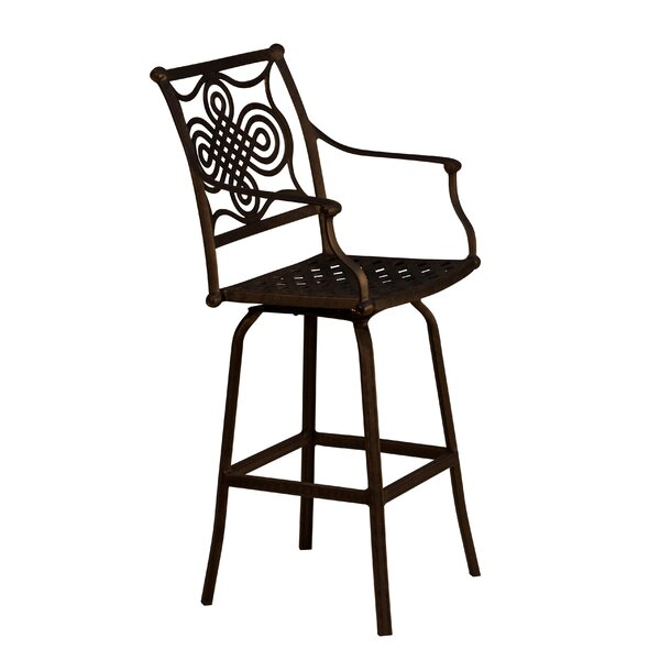 Bermuda 28 Patio Bar Stool by California Outdoor Designs