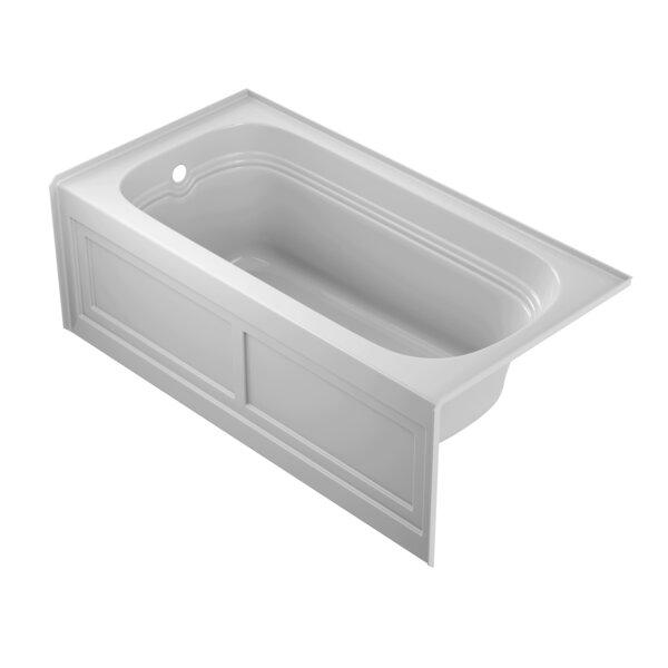 Luxura 60 x 30 Alcove Soaking Bathtub by Jacuzzi®