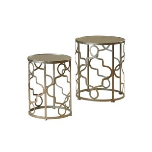 Witney 2 Piece Nesting Table Set House of Hampton