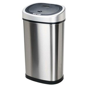 stainless steel 132 gallon motion sensor trash can. Interior Design Ideas. Home Design Ideas