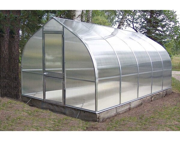 Riga V 9.67 Ft. W x 17.5 Ft. D Commercial Greenhouse by Hoklartherm