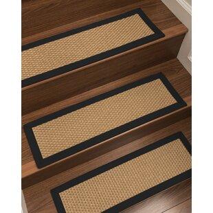 Shauntel Custom Sisal Stair Tread Set Of 13