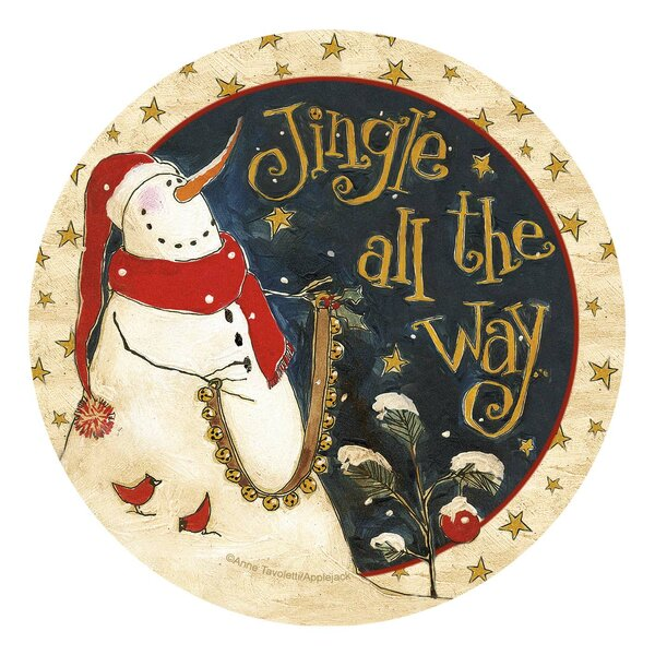 Jingle All the Way Occasions Coaster (Set of 4) by Thirstystone