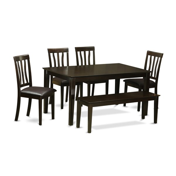 Amazing Capri 6 Piece Dining Set By Wooden Importers Today Only Sale