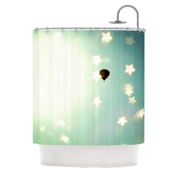Amongst The Stars Shower Curtain by East Urban Home