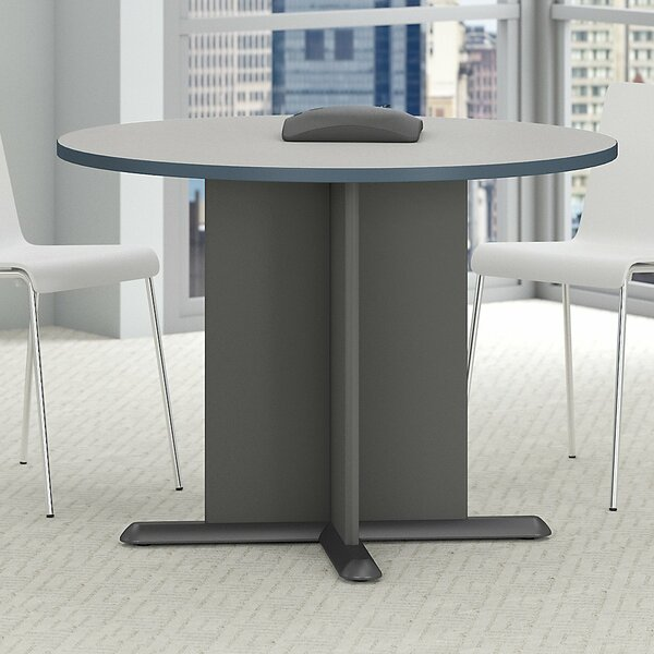 Fairplex Circular 29.8H x 41.38W x 41.38L Conference Table by Bush Business Furniture