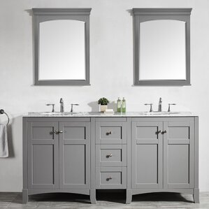 gray double sink vanity. gray double sink vanity