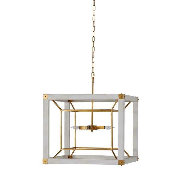 Brookline 1 - Light Lantern Square Chandelier by Gabby Gabby