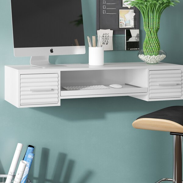 Bennie Floating Desk by Wade Logan