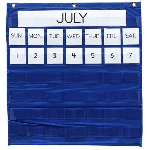 Monthly Calendar Pocket Chart by Pacon Corporation