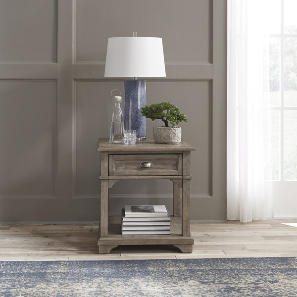 Carino End Table by Darby Home Co Darby Home Co
