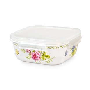 Incroyable Ashley Square 11 Oz. Food Storage Container