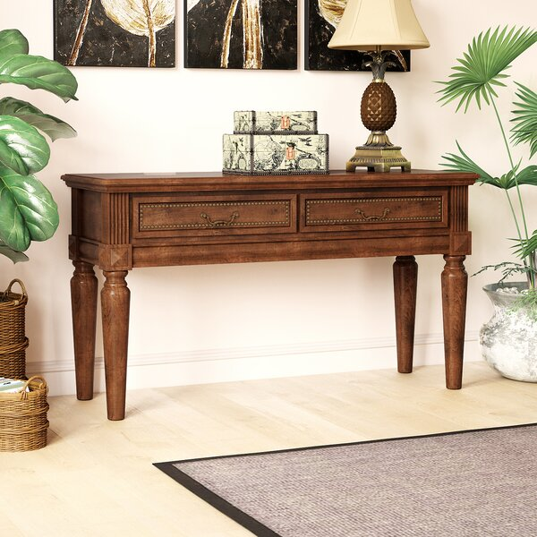 Lilia Console Table by Beachcrest Home