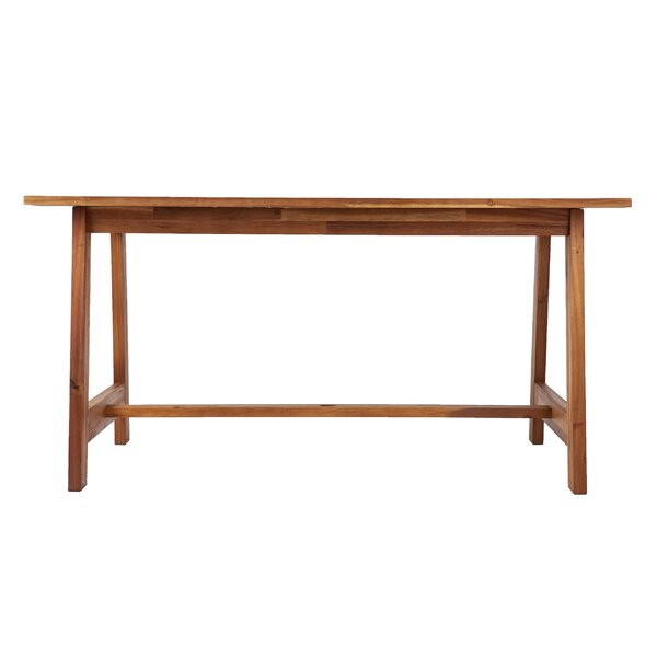 Geter Wooden Dining Table by Union Rustic