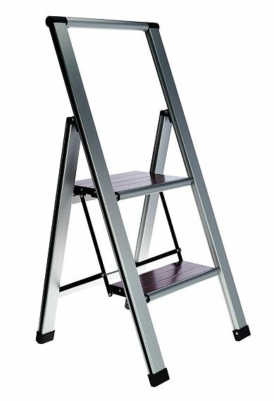 Swell Nickolas Folding 2 Step Ladder With 250 Lb Load Capacity Lamtechconsult Wood Chair Design Ideas Lamtechconsultcom