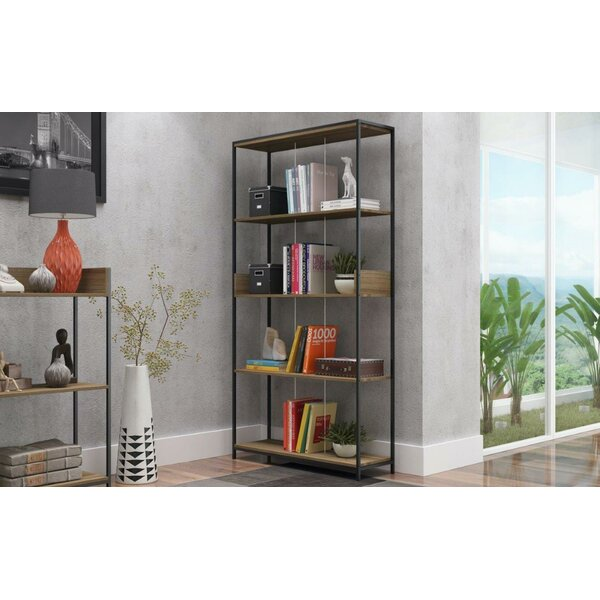 Blaire Metal Standard Bookcase by Ivy Bronx