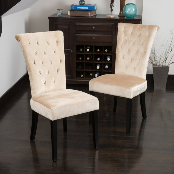 Bargain Brady Upholstered Dining Chair (Set Of 2) By Willa Arlo Interiors Today Sale Only