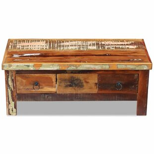 Chilmark Solid Reclaimed Wood Coffee Table with Storage