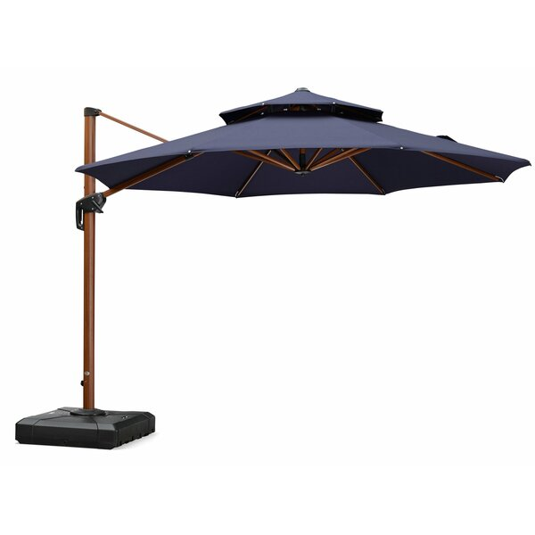 Vogt 11' Cantilever Umbrella By Canora Grey by Canora Grey Great Reviews