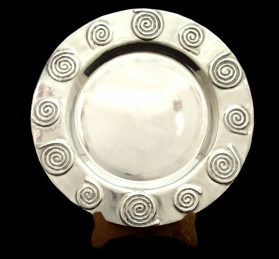 Newberry Helix Platter by Bloomsbury Market