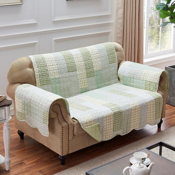 Branford Loveseat Slipcover By August Grove